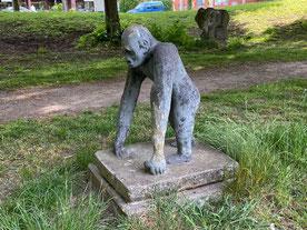 Kunst im öffentlichen Raum in Bremen Obervieland - Skulpturenallee an der Alfred-Faust-Straße (Foto: 05-2020, Jens Schmidt)