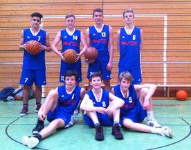 Paul, Sebastian, Finn (alle 8d), Leon, David, Julian (alle 10a), Valentino (10c)