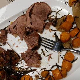 Unser Baby-led Weaning Blog - Rezept für zarte Lammkeule