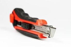 cuttermesser für den werkzeugkasten