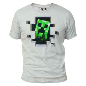 Minecraft Minecraft Creeper Inside Premium Tee マインクラフトクリーパーインサイドTシャツ
