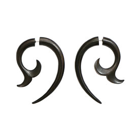 Whale Tail Tribal Earrings フェイクゲージピアス ホエールテールボディーピアス