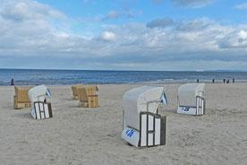 Пляжные корзины на Узедоме