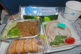 Bordverpflegung bei Aeroflot