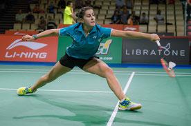 Weltmeisterin Carolina Marin (Bild: Bernd Bauer)