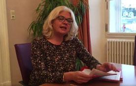 Salzburgs Bürgermeister-Stellvertreterin Anja Hagenauer rettet das Lernhilfeprojekt Bild: scrs: Video Hagenauer