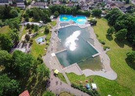 Parkbad Wadgassen Luftbild Fotografie