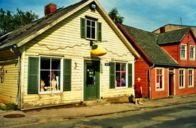 Häuser in Saldus