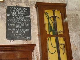"""Épée dite """"de Godefroy de Bouillon""""- Saint-Sépulcre. TEMPLE DE PARIS"""