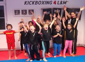 Kindertraining, Kickboxen in Wiener Neustadt, KICKBOXING4L&M
