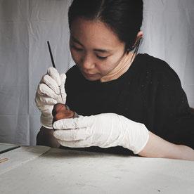 Die Künstlerin Ayaka Terajima