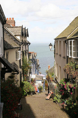 Gasse in Clovelly