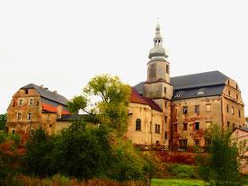 eine barocke Schlossanlage aus dem 18. Jhd.
