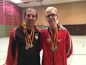 GSBV Halle/S. TT- Team - F. Meyer und I. König