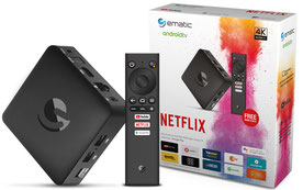 Ematic SRT202 box Android TV
