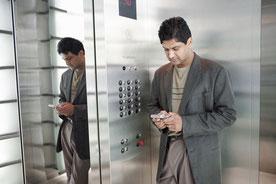 Kann bald endlich Apps im Fahrstuhl zu Ende programmieren: App-Entwickler.