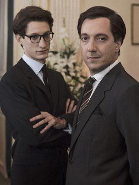 Pierre Niney et Guillaume Gallienne (©Thibault Grabherr et Anouchka de Williencourt/SND)
