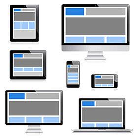 「レスポンシブWebデザイン」にすれば管理も簡単で、SEO対策に有利です