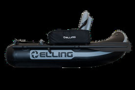 Optimus Max I II bellyboot belly boat float tube Zeck belly Cat Illex Barooder 12bb Black Viking seven bass