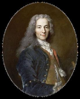 François-Marie Arouet, dit Voltaire, (1694-1778) d'après Nicolas de Largillière vers 1725