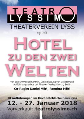 Hotel zu den zwei Welten Flyer