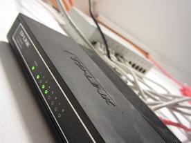 Kleines und kostengünstiges Gigabit-Netzwerk