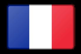 Französische Flagge - die Tricolore
