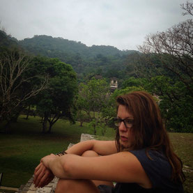 Very simple life in Palenque. Tired but happy and connected with nature.
