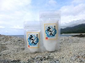 商品写真:屋久島永田の塩「えん」
