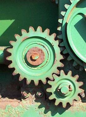 Zahnradgetriebe (Q: Wikipedia.de)