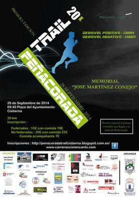 PEÑACORADA TRAIL 2014 - Cistierna, 28-09-2014