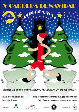 V CARRERA DE NAVIDAD CIUDAD DE ASTORGA - Astorga, 22-12-17