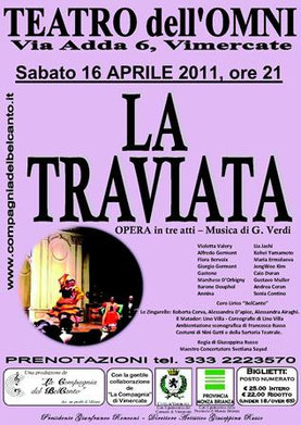 LA TRAVIATA – Vimercate, 16/04/11