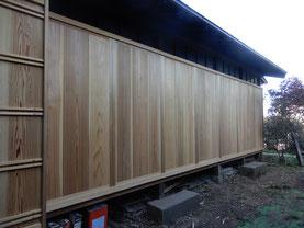 築90余年 古民家再生 縁側 木製建具 雨戸