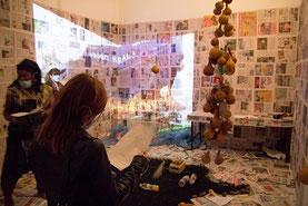 Probo Koala,Installation-Performance 2015,Malmo,Suède photo Petter Petterson Lilith Performance Studio
