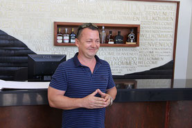 Barcelo Rumfabrik mit Andy