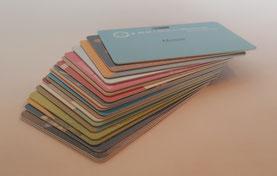 Plastikkarten Digitaldruck Offsetdruck RFID Magnetkarten Barcodekarten Magnetstreifen Barcode Dickplastikkarten Dünnplstikkarten farbig Blanko Chip RFID Pooldruck CMYK