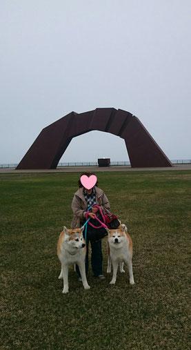 家族で納沙布岬へ行って来たよー。遠かったよ~。