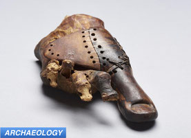 Scientists Examine 3000 Year Old Egyptian Prosthesis
