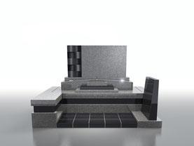 デザイン墓石ヴァーグ