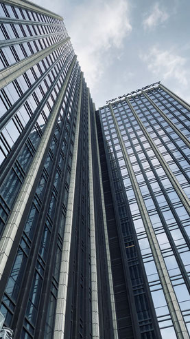 Blick auf das JW Marriott Hotel Shenzhen