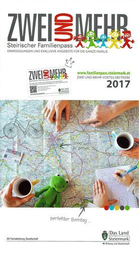 04.04.2017: der Verein Schultüte ist Vorteilsbetrieb des Landes Steiermark, mit dem steirischen Familienpass erhält man 10% auf die Austestung bei Roswitha Hafen, Christine Kalcher sowie Cornelia Zelle.