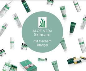 Gesichtspflege, Körperpflege mit Aloe Vera