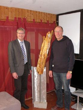 Peter Nissen und Dr. Berthold Grzywatz