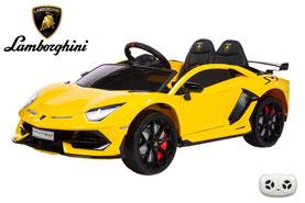 Lamborghini/Aventador SV/2019/2x45W/Kinderauto/Kinder Elektroauto/lizensiert/Lackiert/