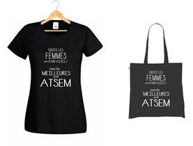 message imprimé ATSEM