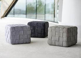 Cube Garten-Hocker von Cane-line