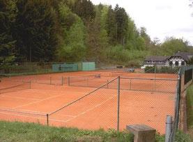 Tennisanlage am Schwimmbad