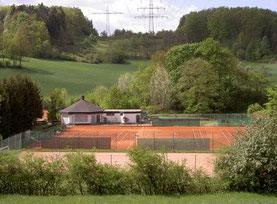 Tennisanlage im Mühlwoog