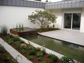 Terrasse Sandstein, Gartenbau  Wuppertal